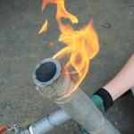 配管の水漏れをピンポイントで修理する方法