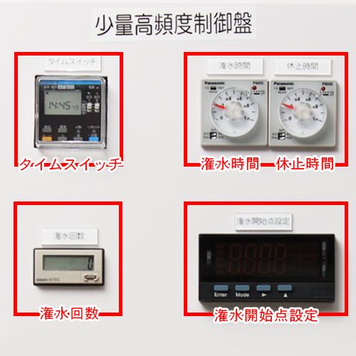 少量高頻度制御盤詳細
